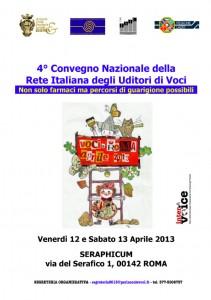4 Convegno Nazionale Voci LOCANDINA A4