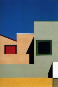 (Geometry and colours by Franco  Fontana)