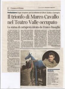 Il trionfo di Marco Cavallo   Corriere-0001