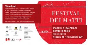 cartolina Festival dei matti