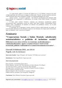 invito per seminario