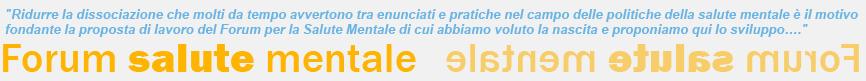forum salute mentale